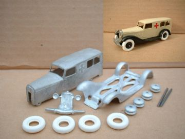 A DINKY TOYS COPY MODEL 30F AMBULANCE [ IN KIT FORM ]